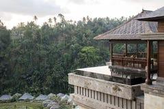 巴厘岛印度尼西亚Mandapa里茨卡尔顿储备08 10 2015年 免版税图库摄影