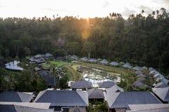 巴厘岛印度尼西亚Mandapa里茨卡尔顿储备08 10 2015年 图库摄影