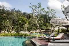 巴厘岛印度尼西亚Mandapa里茨卡尔顿储备08 10 2015年 免版税库存照片