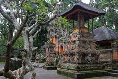 巴厘岛大厦,公园和旅行 免版税库存图片