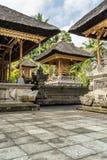 巴厘岛寺庙装饰 库存照片