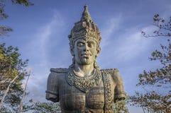 巴厘岛巨型印度尼西亚雕象vishnu 库存图片