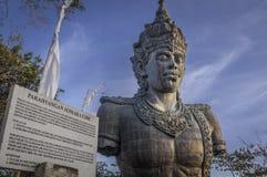巴厘岛巨型印度尼西亚雕象vishnu 免版税库存照片