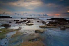 巴厘岛海边 免版税库存照片