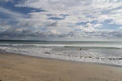 巴厘岛海滩印度尼西亚kuta 免版税库存图片