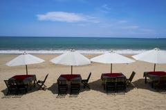 巴厘岛海滩,印度尼西亚 免版税库存图片