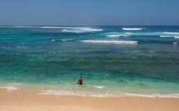巴厘岛海 免版税库存照片