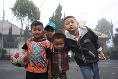 巴厘岛男孩 库存图片