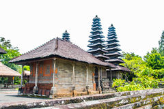 巴厘岛的Pura塔曼Ayun议院 免版税库存照片