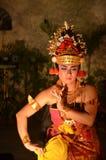 巴厘岛舞蹈家 库存照片