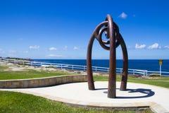 巴厘岛轰炸的纪念品, Coogee,悉尼 图库摄影