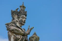 巴厘岛雕象 图库摄影