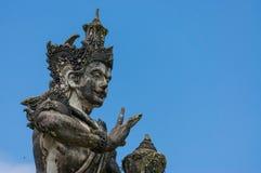 巴厘岛雕象 免版税图库摄影