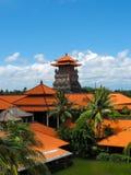 巴厘岛,印度尼西亚- 2008年12月25日:盐水湖和公园Ayodya手段的 免版税库存图片