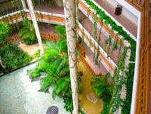 巴厘岛,印度尼西亚- 2008年12月25日:Ayodya手段的公园 库存图片