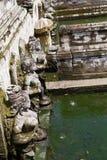 巴厘岛, Pura Tirta Empul寺庙  库存照片