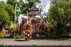 巴厘岛 全国巴厘语舞蹈 免版税库存照片