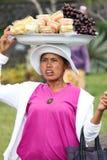 巴厘岛- 10月17 :未认出的村庄妇女加州 免版税库存照片