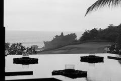 巴厘岛黑色&白色 库存照片