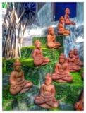 巴厘岛经验 库存照片