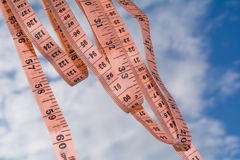 厘米到天空里 免版税库存照片