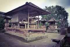 巴厘语传统眺望台 库存照片