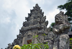 巴厘语印度寺庙 图库摄影