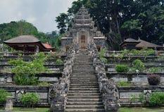 巴厘语印度寺庙 库存照片