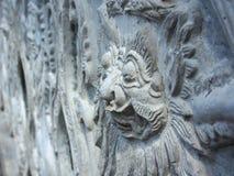 巴厘语印度雕塑 库存照片