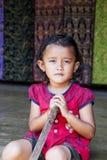 年轻巴厘语女孩 库存照片
