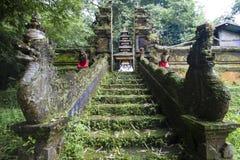 巴厘语寺庙 免版税库存照片