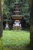 巴厘语寺庙 图库摄影