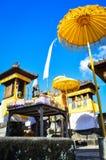 巴厘语寺庙 库存图片