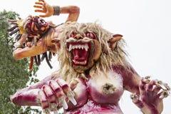 巴厘语新年 免版税库存图片