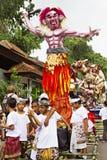 巴厘语新年 库存图片
