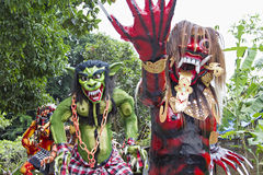 巴厘语新年 免版税图库摄影