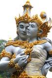 巴厘语神夫妇  库存图片