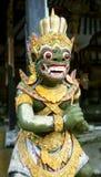 巴厘语神(绿色) 库存照片