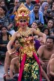 巴厘语舞蹈家 免版税库存图片