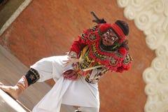 巴厘语舞蹈 库存照片