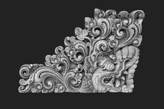巴厘语雕塑 免版税图库摄影