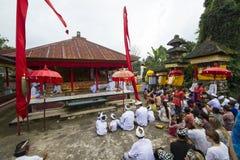 巴厘语仪式 免版税图库摄影
