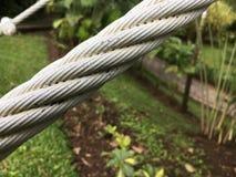 厚实的缆绳 免版税库存照片