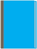 厚实的蓝皮书 皇族释放例证