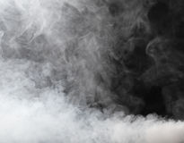 厚实雾的流 库存图片