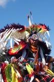 原史舞蹈家埃德蒙顿的遗产天2013年 免版税库存照片