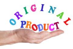 原始产品 库存图片
