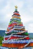 原始圣诞树 免版税库存照片