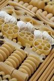 原始意大利的意大利面食 免版税库存照片