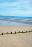 原始海滩 库存图片